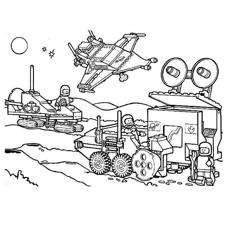 Coloriage a imprimer astronaute lego gratuit et colorier - Dessin de lego ...