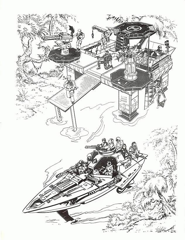 Coloriage a imprimer base militaire gi joe gratuit et colorier for Gi joe coloring pages
