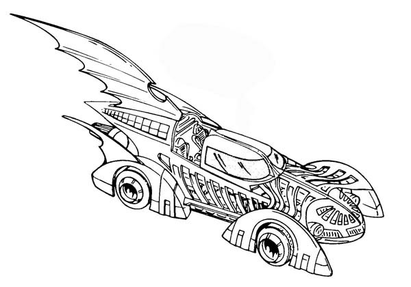 free coloring pages of batman batmobile. Black Bedroom Furniture Sets. Home Design Ideas