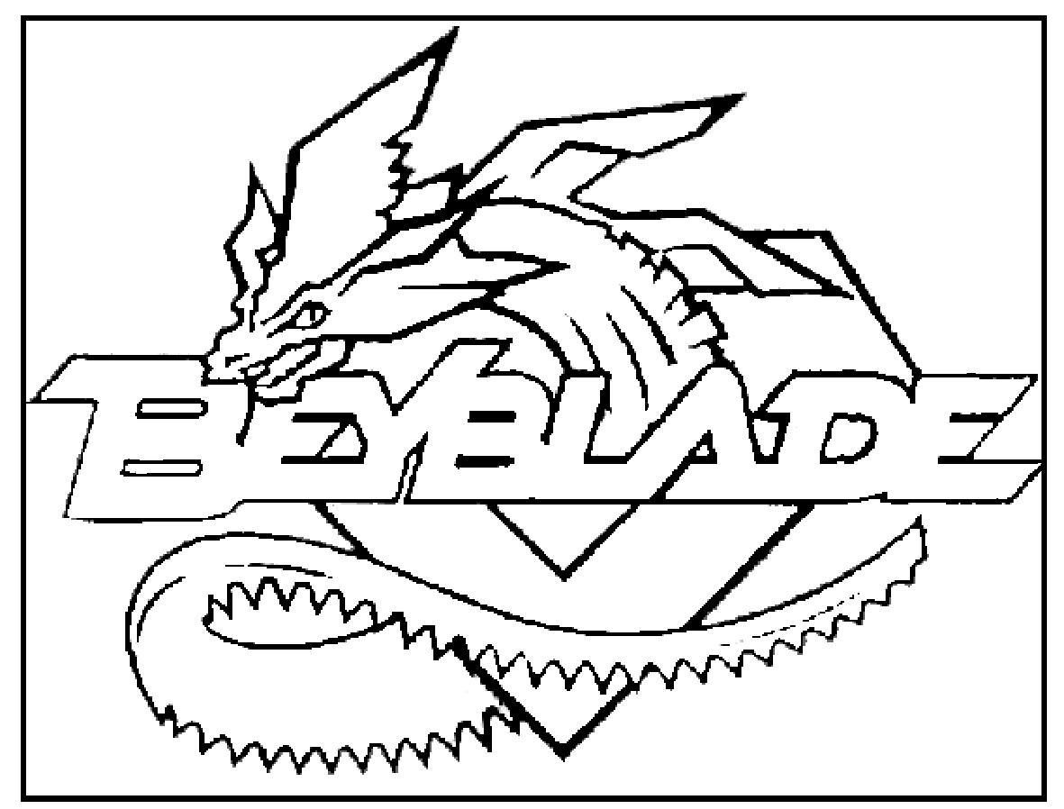 Coloriage a imprimer beyblade blason gratuit et colorier - Dessin beyblade ...