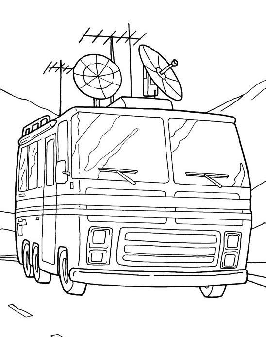 Coloriage a imprimer camping car de ben 10 gratuit et colorier - Dessin a colorier camping car gratuit ...