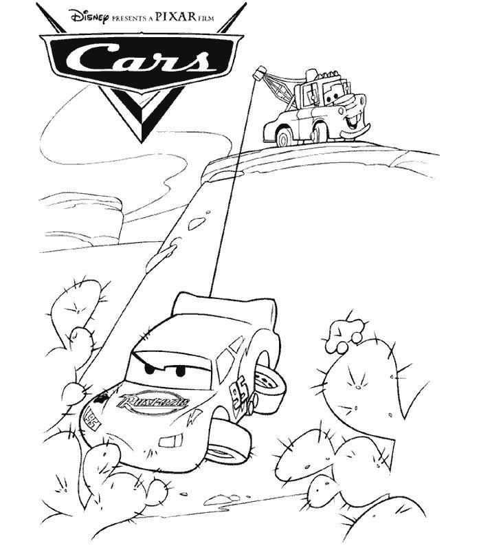 Coloriage magique cars - Coloriage cars jpg ...