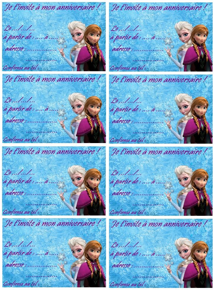 Carte invitation frozen reine des neiges a imprimer coloriage carte invitation frozen reine des neiges stopboris Images