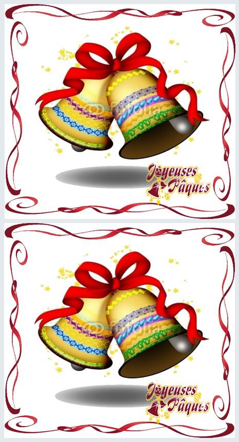 Carte postale belles cloches de paques a imprimer - Carte de paques a imprimer gratuit ...