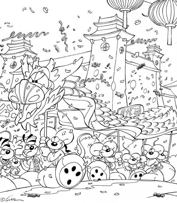 Coloriage a imprimer diddl nouveau chinois gratuit et colorier - Coloriage chinois ...