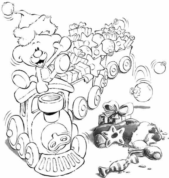 Coloriage a imprimer diddl pimboli train gratuit et colorier - Train coloriage ...