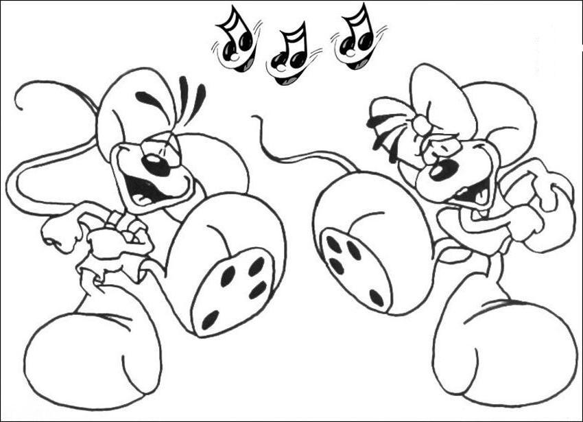 Coloriage a imprimer diddl music gratuit et colorier - Dessin de diddle ...