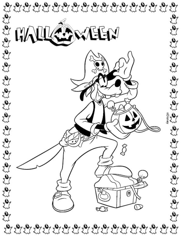 Coloriage a imprimer dingo a halloween gratuit et colorier - Dessin halloween gratuit ...