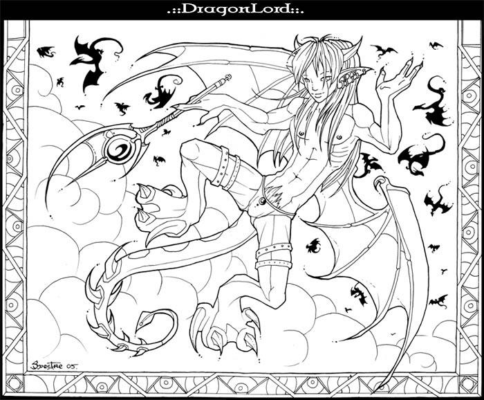 coloriage a imprimer dragon lord gratuit et colorier. Black Bedroom Furniture Sets. Home Design Ideas