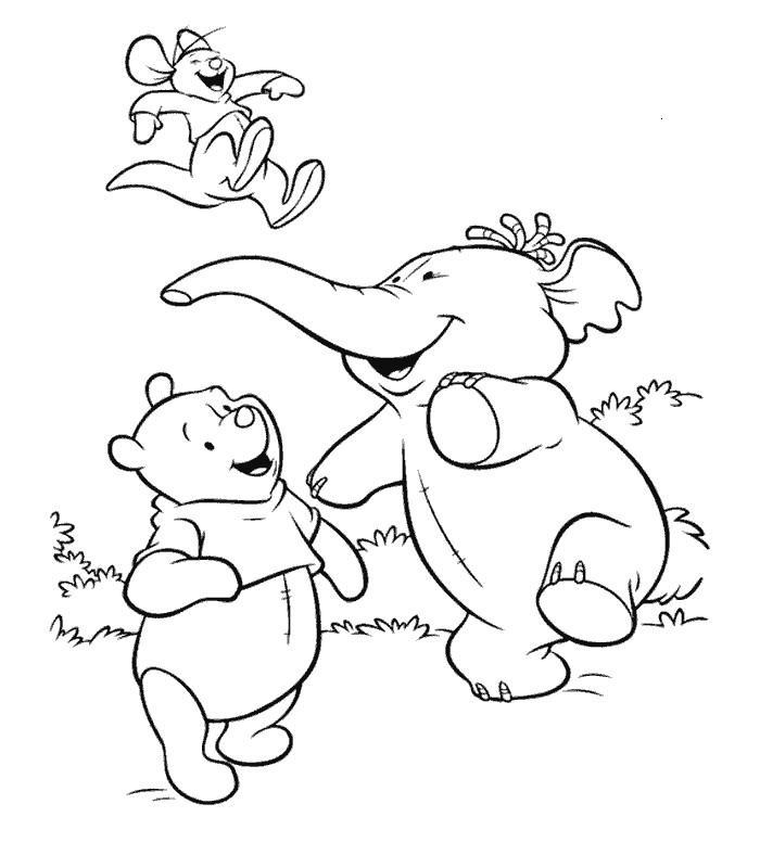 Coloriage A Imprimer Winnie L Ourson Colorier Les Enfants