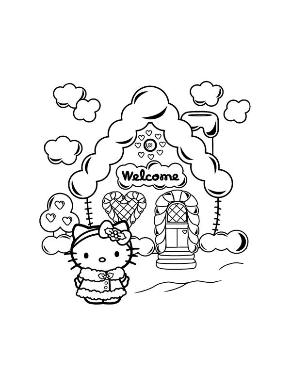 Dessin Maison En Bonbons