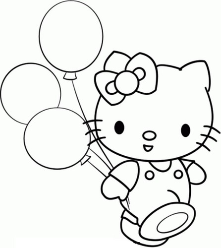 Coloriage hello kitty imprimer search results calendar for Ses gratuit