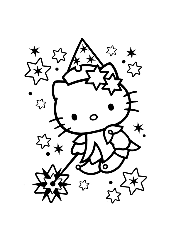 Coloriage a imprimer hello kitty fee gratuit et colorier - Coloriage hello kitty a colorier ...