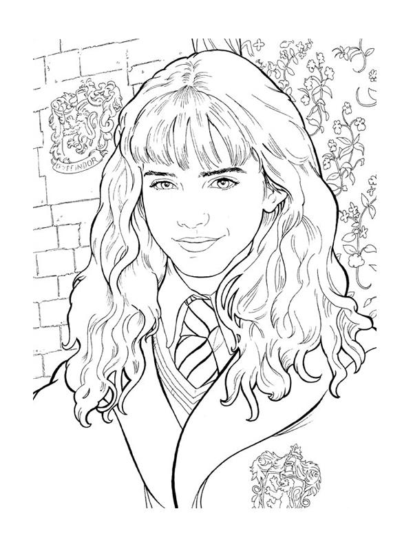 Coloriage à imprimer gratuit hermione granger