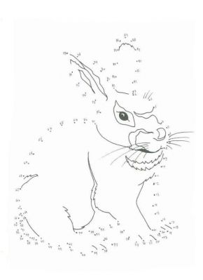Coloriage point a point a imprimer joli lapin gratuit et - Point a relier gratuit ...