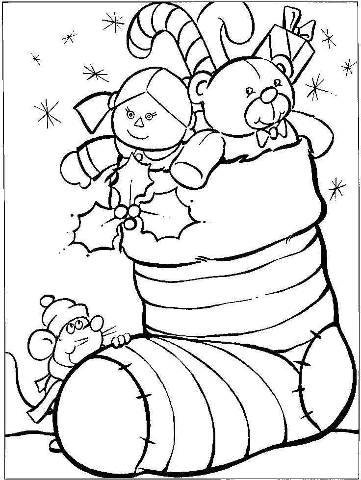Coloriage Gratuit De Noel