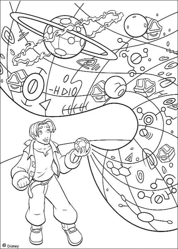 Coloriage a imprimer la planete au tresor jim et la carte au tresor gratuit et colorier - Coloriage tresor ...