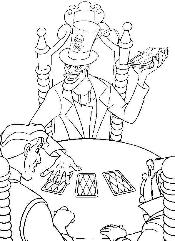Coloriage a imprimer la princesse et la grenouille la partie de carte gratuit et colorier - Coloriage la princesse et la grenouille ...