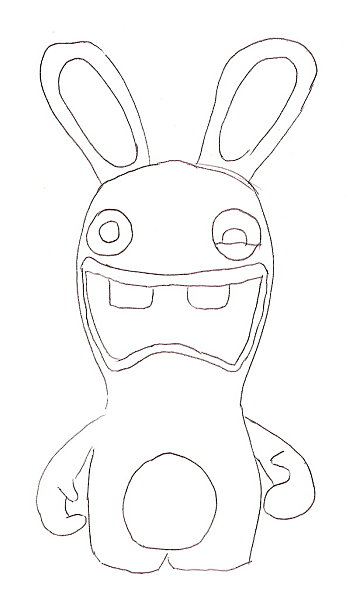 Comment dessiner un lapin cretin - Lapin a dessiner ...