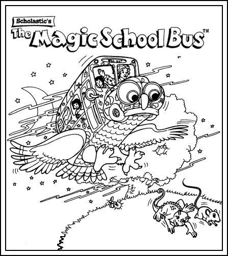 Coloriage a imprimer le bus magique en chouette gratuit et - Coloriage magic a imprimer ...