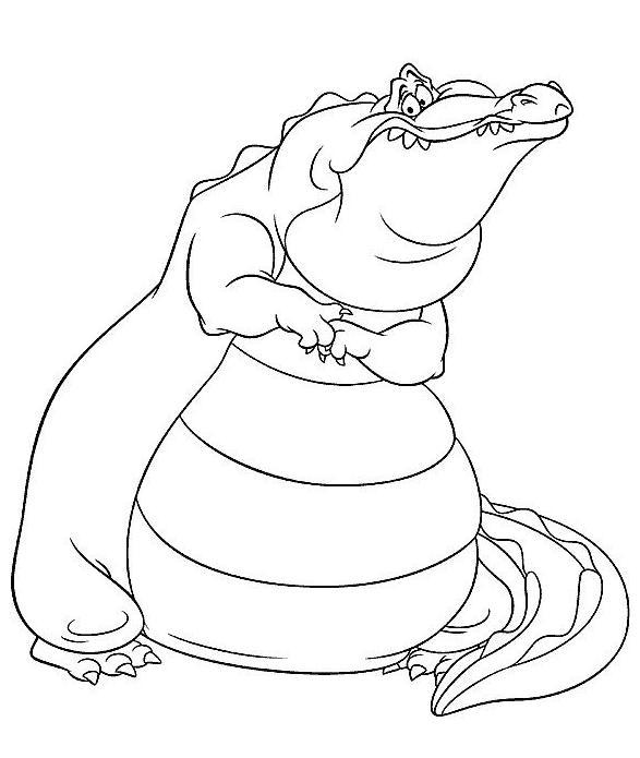 Coloriage Gratuit Crocodile.Coloriage A Imprimer Le Crocodile Gratuit Et Colorier