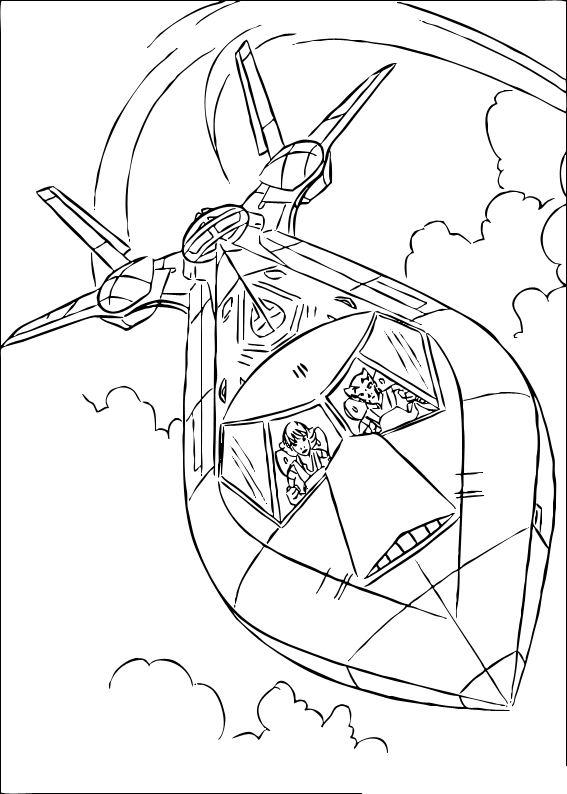 Coloriage a imprimer le vaisseau des x mens gratuit et colorier - Vaisseau star wars coloriage ...