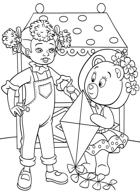 Coloriage a imprimer les amis de oui oui mirou et melissa - Melissa oui oui ...