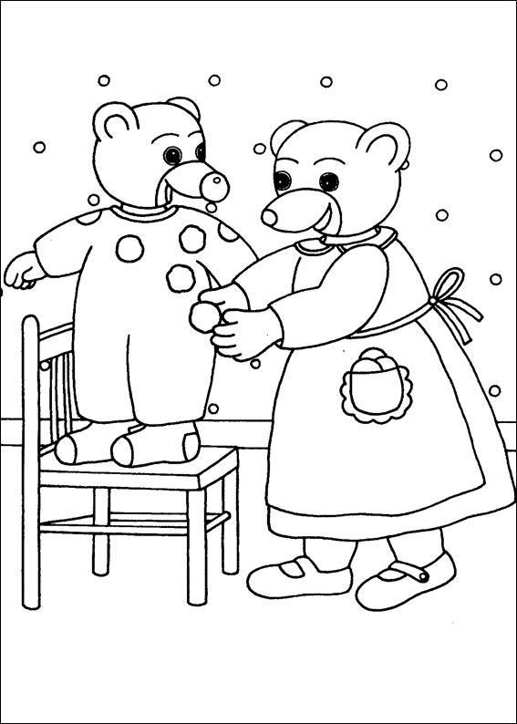 Coloriage a imprimer maman fait un deguisement a petit - Coloriage petit ours brun a imprimer ...