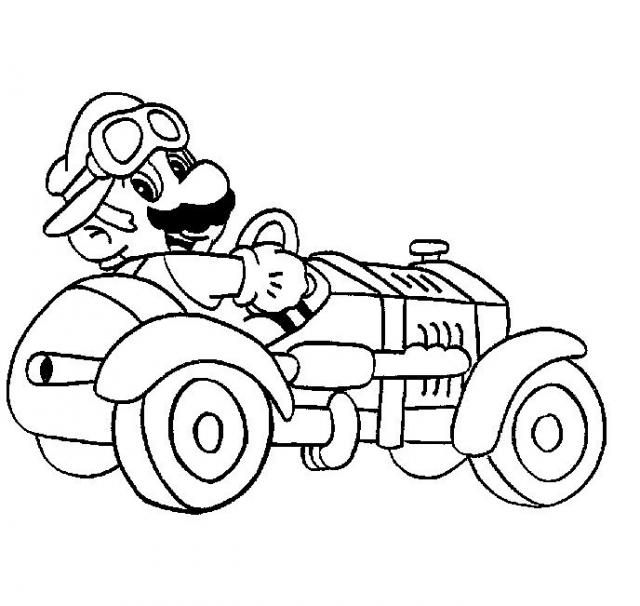 Coloriage de mario bros - Coloriage mario bross ...