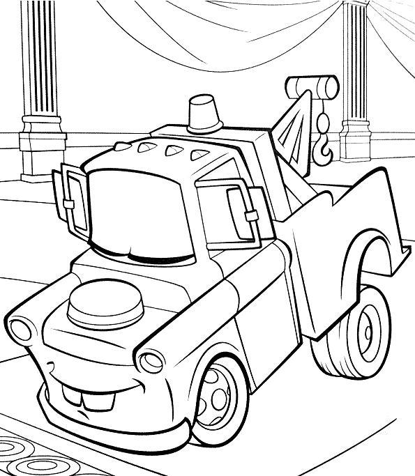 Coloriage a imprimer martin reve cars 2 gratuit et colorier - Coloriages cars 2 a imprimer ...