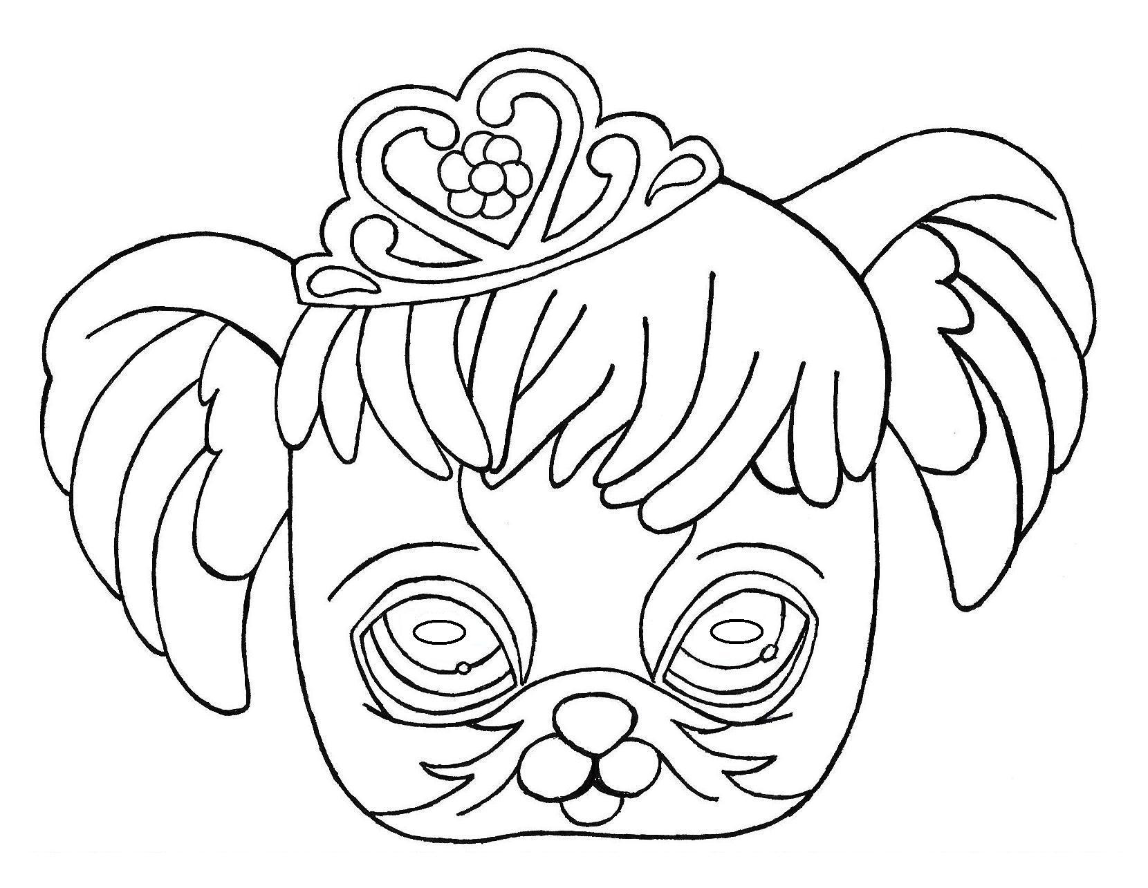 Masque Decoupage A Imprimer Pour Enfants