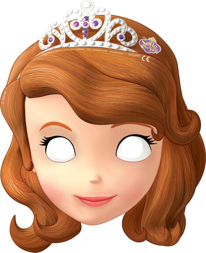 Masque princesse sofia d coupage a imprimer - Princesse sofia et ariel ...