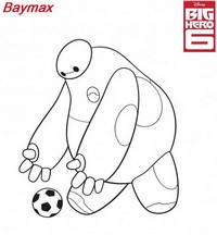 coloriage big hero 6 baymax