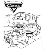 coloriage cars amis