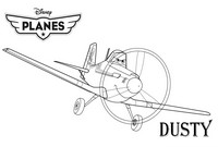 coloriage dusty planes