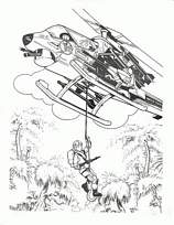coloriage helicoptere gi joe