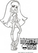 coloriage monster high cleo de nile