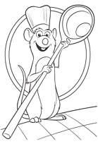 Coloriage A Imprimer Ratatouille
