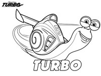 Coloriage turbo l escargot - Coloriage escargot turbo ...