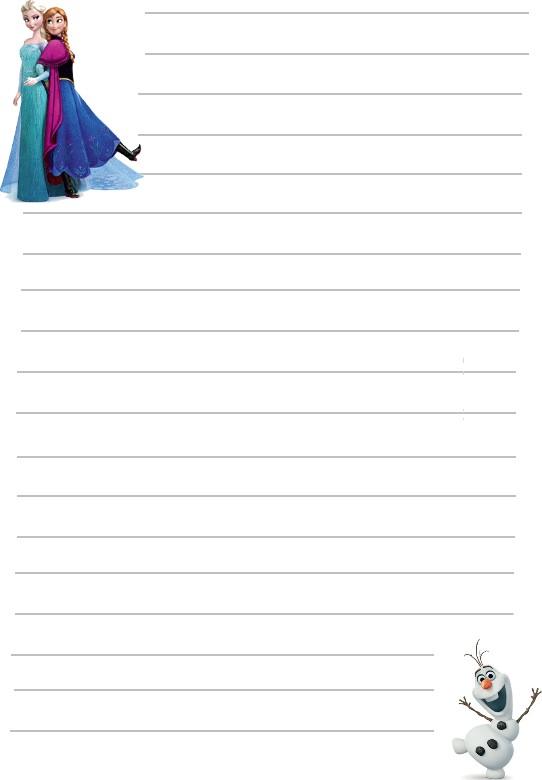 Papier a lettre reine des neiges a imprimer - Papier peint reine des neiges ...
