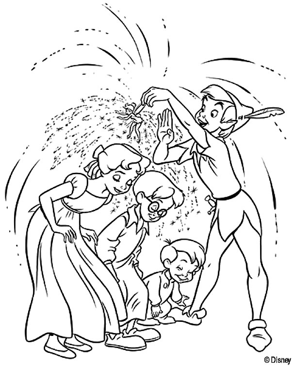 Coloriage a imprimer peter pan asperge les enfants de - Coloriage de peter pan ...