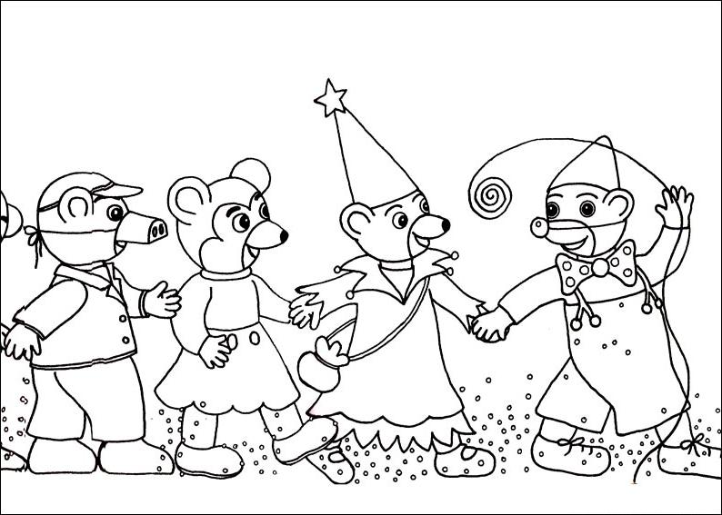1000 images about carnaval on pinterest - Carnaval coloriage ...