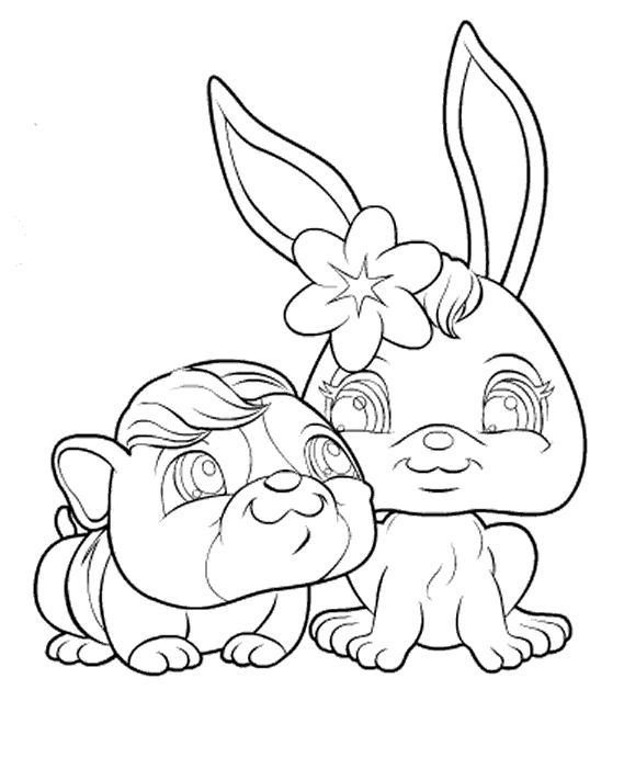 Petshop chien - Petshop coloriage ...