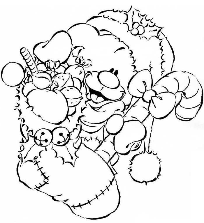 Coloriage a imprimer pimboli cadeau de noel gratuit et - Dessin cadeau noel ...