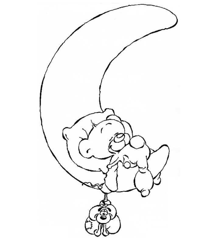 Coloriage a imprimer pimboli dans la lune gratuit et colorier - La lune coloriage ...