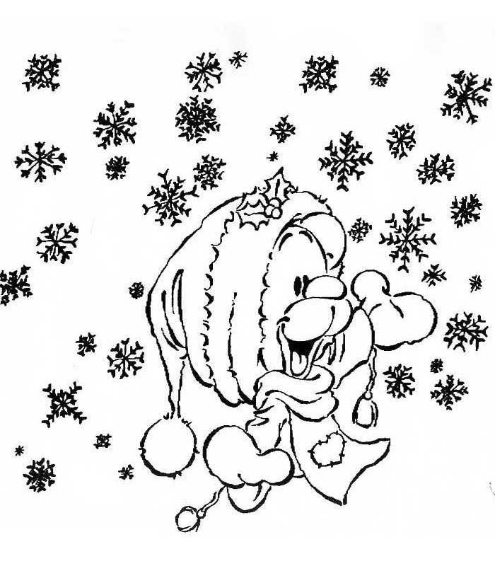 Coloriage a imprimer pimboli flocon de neige gratuit et ...