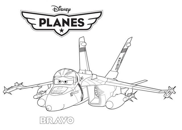 Coloriage a imprimer planes bravo cle anglaise gratuit et - Dessin avion a imprimer gratuit ...