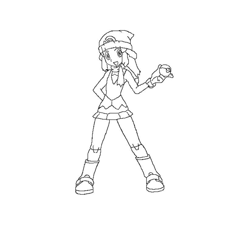 Coloriage A Imprimer Pokemon Aurore Gratuit Et Colorier