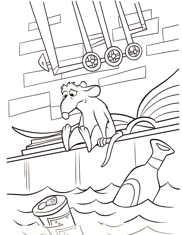 Coloriage a imprimer ratatouille remy deprime gratuit et colorier - Dessin anime ratatouille gratuit ...