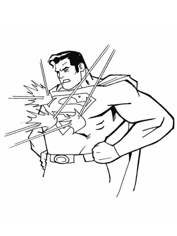 Coloriage a imprimer superman resiste aux lasers gratuit et colorier - Coloriage superman a imprimer ...